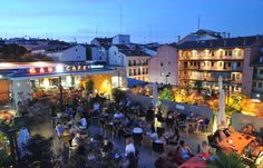 Gaudamus, Madrid (GauCafe)--sits on top of a renovated ruined cathedral in Lavapies district