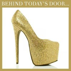 Spylovebuy.com // Behind todays door... 1st December... Follow us and Re-Pin to #WIN this pair of Party Shoes!..x #Christmas #Party #Advent #Giveaway