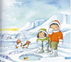 Polar Animals, Polar Bear, Inuit People, Arctic Circle, North Pole, School Projects, Art Lessons, Alaska, Antarctica