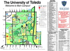 The University of Toledo Map.  I lived in Parks Tower for 2 years.
