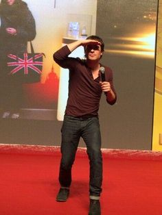 Ian Somerhalder in China 2013