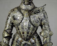 Upper part of Farnese Armour, a present of King Philip II of Spain to Alessandro Farnese (1545-1592), famous general and governor of the Netherlands, 1578