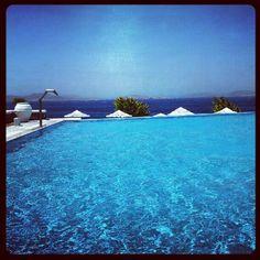 The three S:  -Swimming pool  -Sea  -Sky