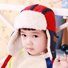 1a74201c704 2014 New Candy spell color Children Fur Hats baby boy Winter wool Hat with  villi inner Kids Earflap Cap FOR 2-8 Years Old