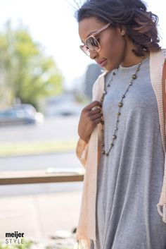 Summer days are ahead, and cute sunglasses are an essential fashion accessory. Check out @candacemread's favorite styles and find out why you should always have multiple pairs in rotation. #MeijerStyle