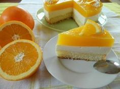 L'irrésistible gâteau à l'orange : recette illustrée, simple et facile Homemade Cakes, Creme Brulee, Orange Recipes, Fruit Recipes, Cake Recipes, Dessert Recipes, Cold Desserts, Lemon Desserts, Just Desserts