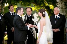 Jewish Wedding Ceremony Antrim 1844 550x366 Maryland Wedding Ceremony: Lauren + Adam