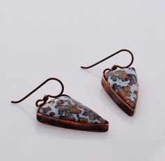 One of a Kind Autumn into Winter earrings