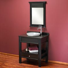 Vanity for the laundry room