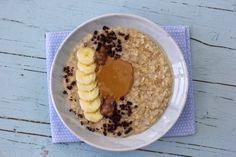 Crepes, Healthy Recipes, Healthy Food, Oatmeal, Paleo, Brunch, Breakfast, Diabetes, Peanut Butter