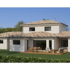 Modèle de maison Projet 96 - . Retrouvez tous les types de maison à vendre en France sur Faire Construire Sa Maison