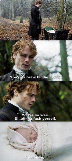 Outlander S03E04 - Jamie and Willie.
