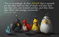 Angry Birds scripture quote - LDS humor