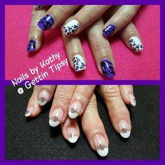 Nail Art, Nails, Painting, Finger Nails, Ongles, Painting Art, Paintings, Painted Canvas, Nail Arts