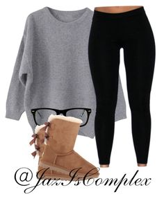 . by jaziscomplex on Polyvore featuring polyvore, fashion, style, UGG Australia and Muse