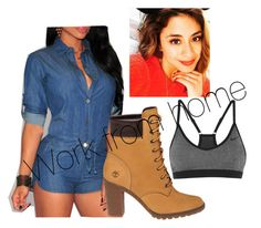 Ally by lowkeybrenny on Polyvore featuring polyvore fashion style NIKE Timberland clothing