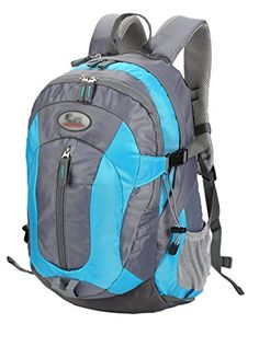 7fd4b97d3eb Casual Waterresistant Hiking Backpack Daypack for Outdoor Hiking Camping Sports  Travel Climbing Blue   Learn more by visiting the image link.