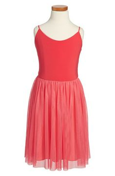 Un Deux Trois Sleeveless Tulle Dress (Big Girls) available at #Nordstrom