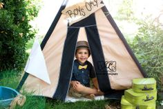 On location boy with his tent photography session https://www.facebook.com/pages/Mandy-Lee-Photography/113937515377935?ref_type=bookmark