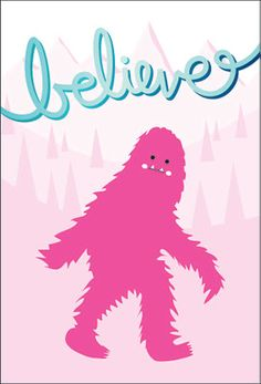 """Bigfoot.  Something fun to believe in.  In fact, Kryptozoology isn't as nutty as it sounds. Today we think of Nessy, 'Squatchs, yetis  and chupacobras, but there was a time not so long ago when GORILLAS were on that list!  And guess what?  At one time, so were giraffes!  Giraffes were called """"Camel leopards"""".  So was the mysterious giant squid - until they were found in the stomachs of sperm whales, who love to eat them!"""