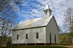 Love the old churches in Cades Cove