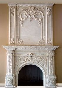 If you are looking to give your room a focal point or something to highlight it, look no further than the fireplace mantel that's already there. Many tend to leave their fireplace mantels bar… Victorian Fireplace Mantels, Marble Fireplace Mantel, Custom Fireplace, Rustic Fireplaces, Faux Fireplace, Marble Fireplaces, Fireplace Mantle, Living Room With Fireplace, Fireplace Surrounds