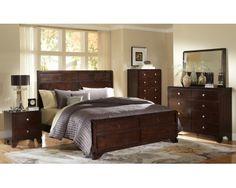 Stylish 6 Piece Queen Panel Bedroom Set   Sam Levitz Furniture | Sam Levitz  Furniture | Pinterest | Showroom And Bedrooms