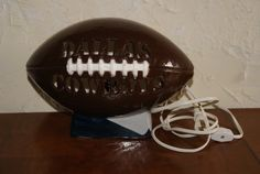 Collectible Ceramic DALLAS COWBOYS Brown Football by WisdomLane