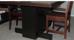 Modern Single Pedestal Table.