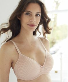 1d69aa924549a Blooming Marvellous Maternity Pink Chiffon Pleated Support T-Shirt Bra