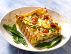 Tarte aux pois gourmandsVoir la recette de la Tarte aux pois gourmands