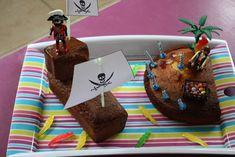 gâteau rigolo bateau  pirate et île au trésor