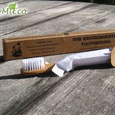 MiEco Bambus-Zahnbürste - für Kinder & Erwachsene -die plastikfreie Alternative