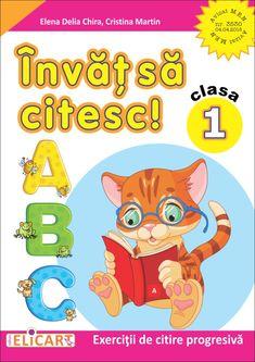 Clasa I : Învăț să citesc! - (A) Cristina Martin, Busy Book, Activities For Kids, Pikachu, Family Guy, Parenting, Education, Logos, School