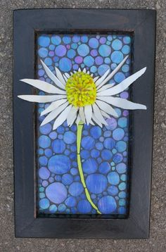 Nikki Murray-Mason, a mosaic artist, specialising in 3D flower mosaics, based in Bermuda.