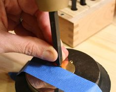 Stamping Blanks    Stamping metal blanks is as easy as 1...2...3 with this tutorial.