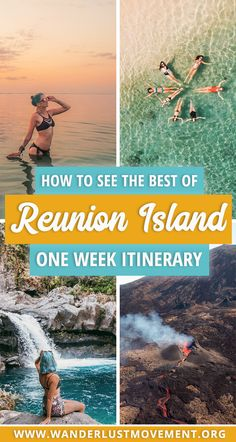 Island Itinerary: How to See the Best of Reunion Island in One Week Looking for the ULTIMATE Reunion Island Itinerary? I've got you covered. Fly over a lava-spewing volcano, eat your weight in Creole food and SO much more! New Travel, Travel Alone, Top Travel Destinations, Travel Tips, Travel Goals, Travel Packing, Travel Guides, Disneyland, Africa Travel