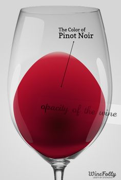 The color of #PinotNoir