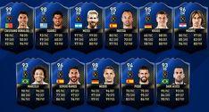 Team of the Year #TOTY completo com os melhores jogadores FIFA 17