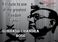 Paying a tribute to one of the greatest freedom fighters of India- Subhash Chandra Bose Freedom Fighters Of India, Subhas Chandra Bose, Franchise Business, Best Hero, Corporate Gifts, Jikook, Life Lessons, Personalized Gifts, I Am Awesome