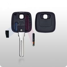 Volvo Transponder Key SHELL - S66NN-P Style