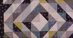 The Half Square Triangles Around The World Quilt Is The Perfect Balance Of Simple And Beautiful!