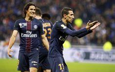 Descargar fondos de pantalla Ángel di María, el París Saint-Germain, el fútbol, Francia, el PSG, futbolista Argentino
