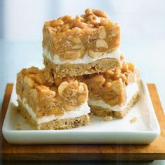 Salted Peanut Chews - Pillsbury Bake-off Winner 1980    (fabulousfoods.com)