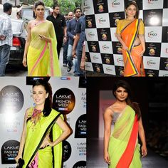 Look what #Bollywood is addicted to! Some of the prettiest faces in Bollywood have been spotted sporting the 'Neon Trend'!