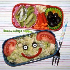 Easy Chicken Salad Bento w/ Recipe #recipe #bento #lunch