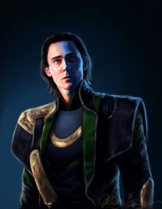 Loki Fan art From http://aqvarelles.deviantart.com/art/The-Lost-Prince-308090193