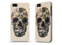 Ali Gulec Skull Town Coque iPhone 5