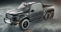 Hennessey Is Making A 6x6 Ford F-150 And There's Nothing You Can Do About It