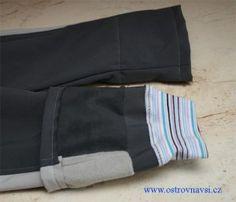 výsledek - náplet do kalhot